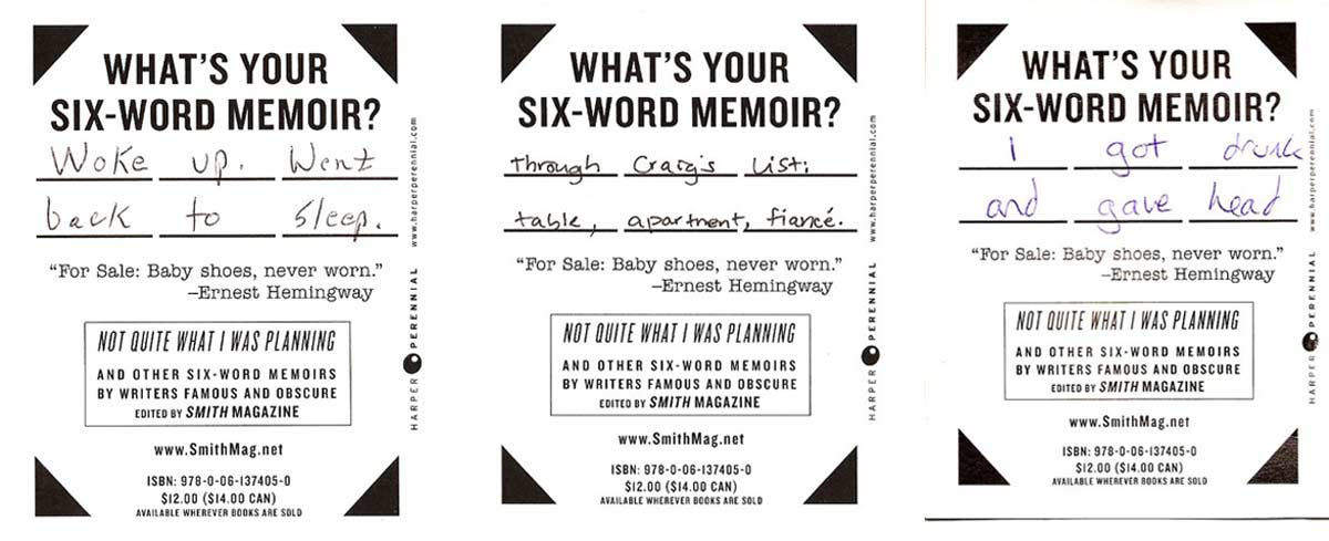 Not Just Here For The Beer A Kgb Bar Reading Six Word Memoirs