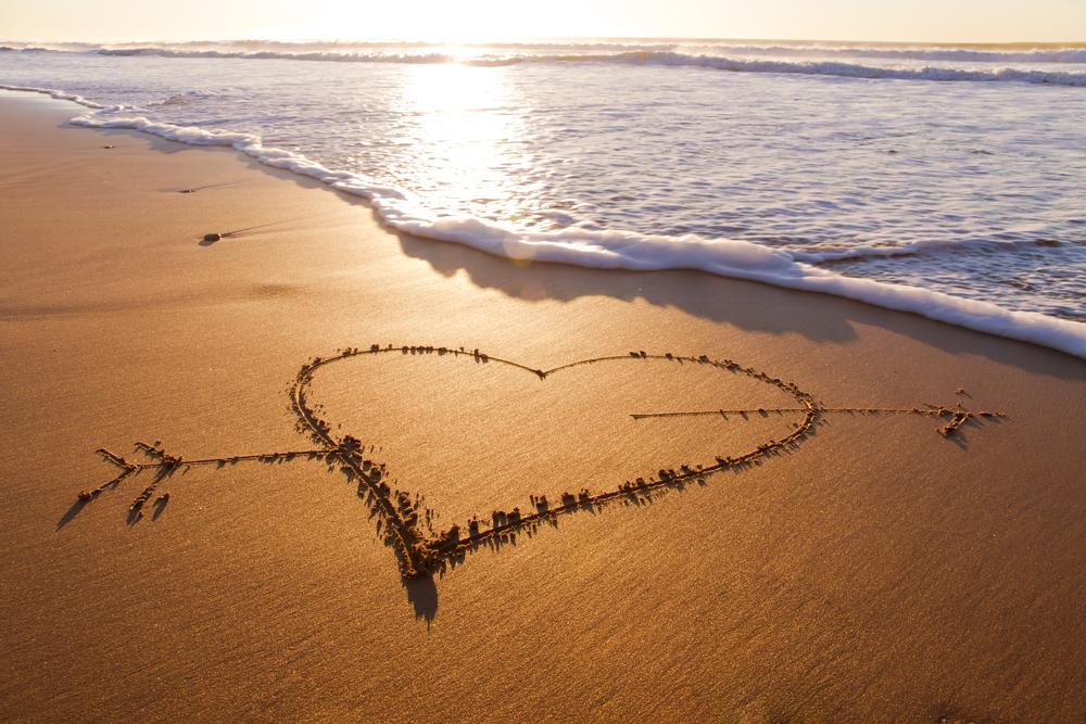 heart by waves shutterstock_79804411