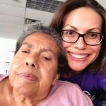 Kathy & mom- selfie
