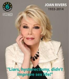 Joan Rivers Six RIP